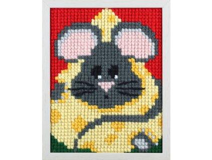 PA027.056 První vyšívání - myška