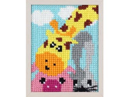 PA027.053 První vyšívání - žirafa