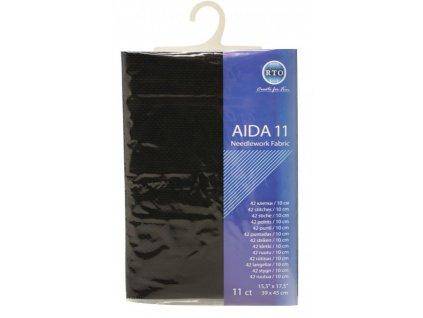 RT-11-095 Aida 11ct Black (39x45cm)