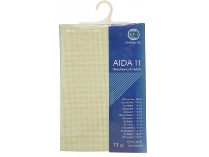 RT-11-264 Aida 11ct Ecru (39x45cm)
