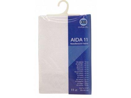 RT-11-100 Aida 11ct White (39x45cm)