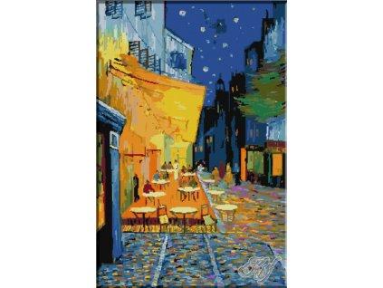 KRI-1144 Van Gogh -Night Café (gobelínový steh)