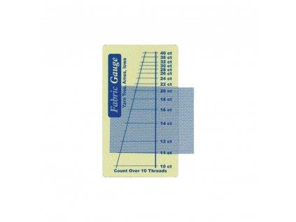 N3679 Pravítko pro určení hustoty vyšívací látky