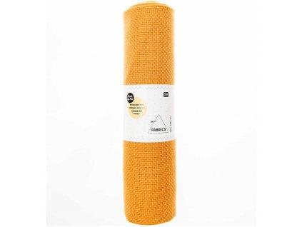 RICO-18988.50.92 Monks Cloth 7,5ct  Mustard (50x140cm)