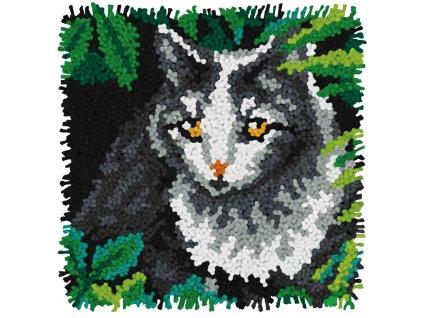 72-75188 Polštářek s kočkou (tapico)