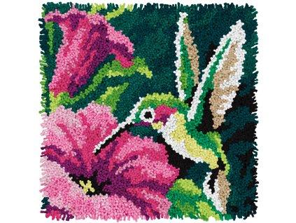 72-74869 Polštářek s kolibříkem (tapico)
