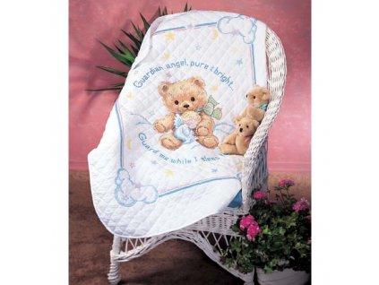 13065 Cuddly Bear Quilt - dětská přikrývka