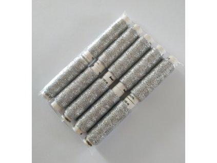 V75039-301 Metalux stříbrný (100m)