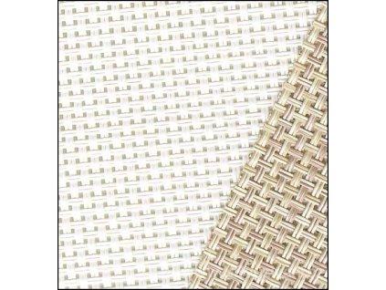 DMC-VC2022PK Vinyl - Weave 13ct smetanová (30x45cm)