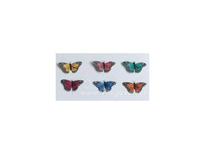 D1300-36 Dekorační motýl - zápich