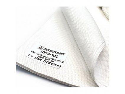 ZW1008-1 Sulta Hardanger 22ct White (55x100cm)