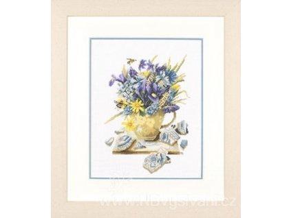ART-L35021 Kytice fialových květů