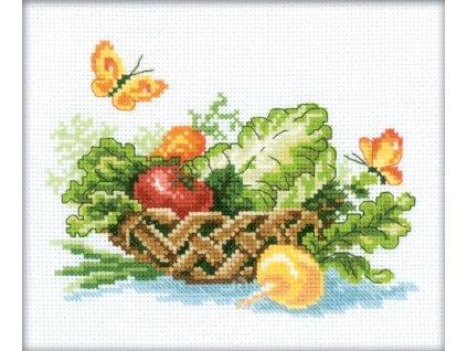 RT-C104 Košík plný zeleniny