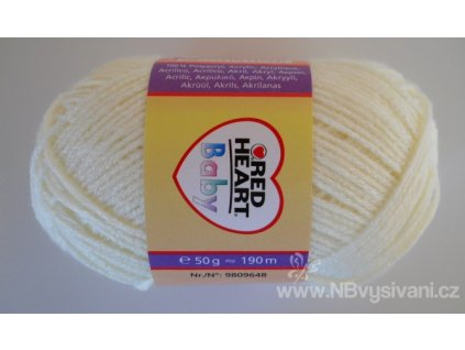 9809648-08502 Baby 50g - Yellow (doprodej)