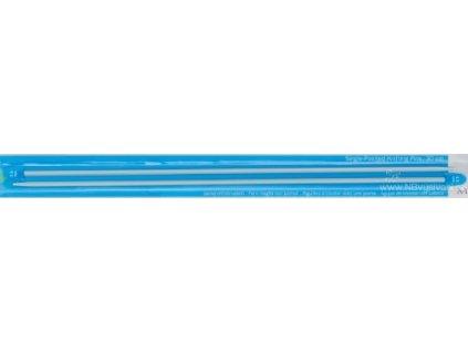 2221302 Pletací jehlice rovné 30cm/2,5mm