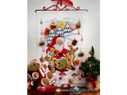 A-9240000-00503 Santa, jelen a medvídci (doprodej)