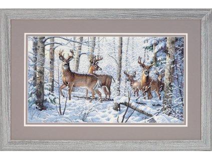 35130 Woodland Winter - Zimní les