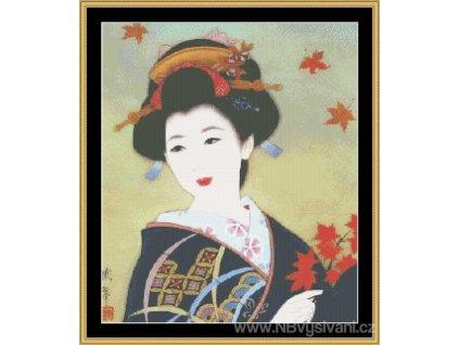 MS-ASA01 Geisha (Aida 18ct)