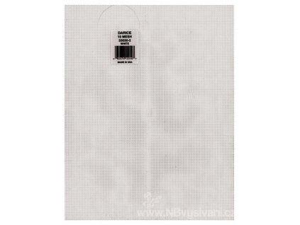 33030-2 Plastová aida 10ct bílá (35x27cm)