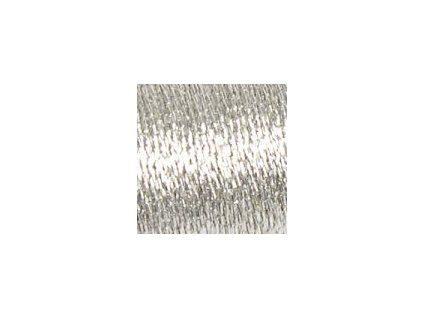 DMC380-D168 Metalická příze Diamant - Silver (35m)