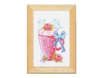 VE-PN0143921 Hrnek s květy