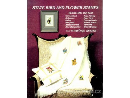 H-COOK-001 State Bird and Flower Stamps (časopis)