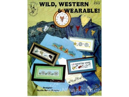 H-7224 Wild, Western and Wearable! (předlohy)