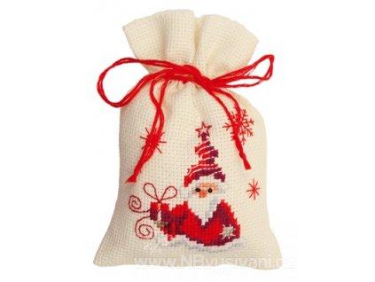 VE-PN0144326 Dekorační sáček  - Santa s dárky