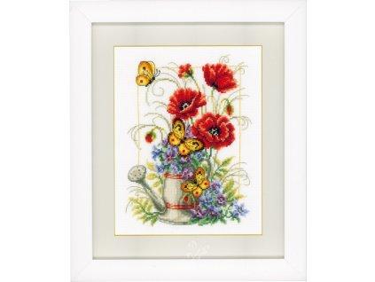 VE-PN0021583 Konev s květinami