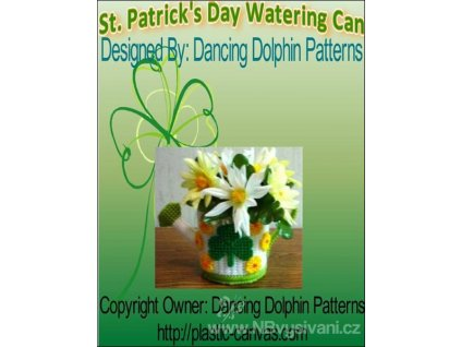 IC7648 St. Patrick's Day Watering Can