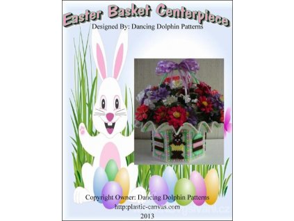 IC8804 Easter Basket Centerpiece