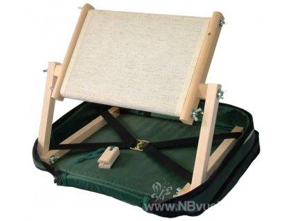 RR-LAPM12 Cestovní vyšívací rám v kufříku zelený...