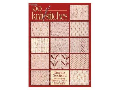 LA2973 Časopis  - 99 pletených vzorů