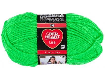 9809619-00201 Lisa 50g - Neon Green (doprodej)