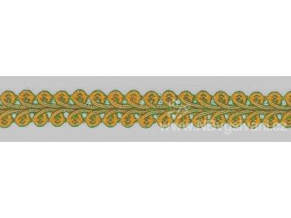 V26903 Prýmek galonový 10 mm zlatožlutý (3m)