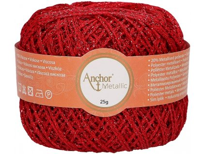 A-4716000-318 Anchor Metallic 25g - Red