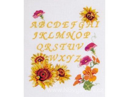 DMC-BK1298 Květinová abeceda (doprodej)