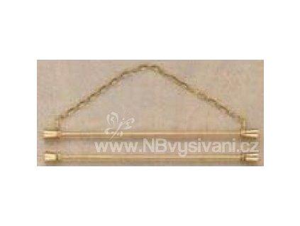 PER-5205-16 Kovový závěs s řetízkem (16cm)