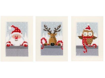 VE-PN0149384 Vánoční přání (set 3ks)