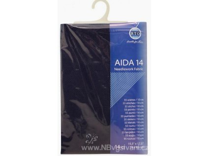 RT-14-589 Aida 14ct Navy (39x45cm)