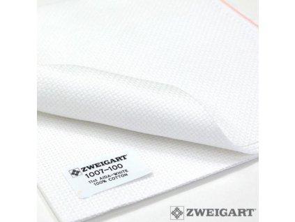 ZW1007-100 Aida 11ct White (55x100cm)