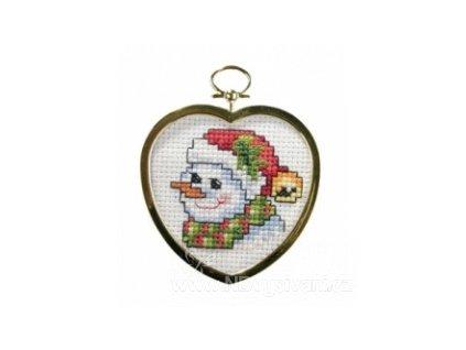 OR6203 Vánoční ozdoba - sněhulák