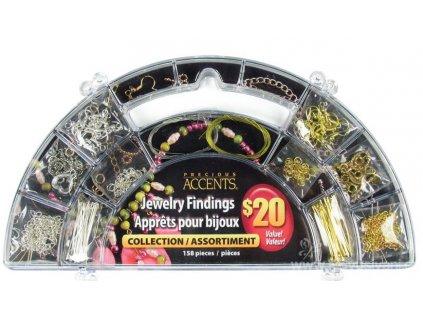 N-13594 Box s kompomenty pro výrobu šperků