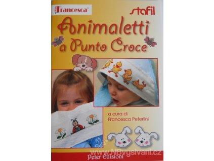 ST381501-132 Animaletti a Punto Croce n.132