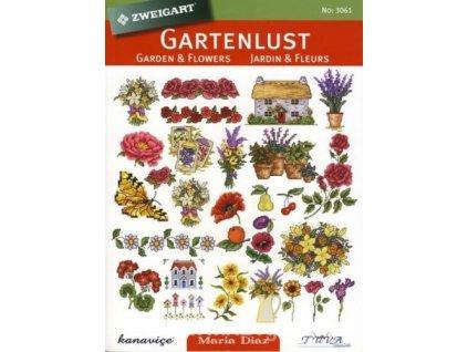 ZW-3061 Zahradní potěšení (kniha předloh)
