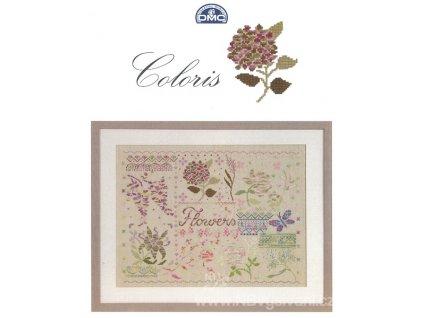 DMC15276/22  Předloha Coloris - Flowers