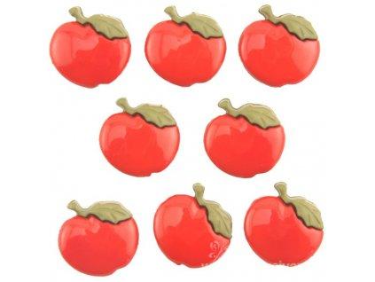 DIU-BTP4094 Ozdobné knoflíky - Apples