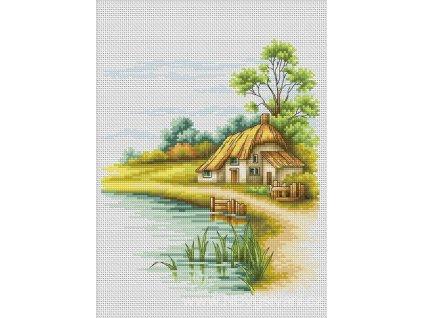 LUC-B2281 Domek u rybníka