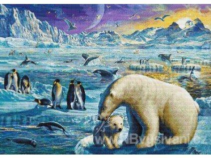 IC21864 Arctic Sundown (Lugana 25ct)