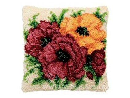 PA013.315 Polštářek s růžemi (tapico)